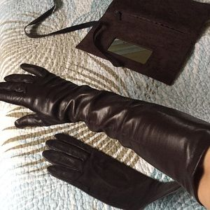 New Neiman Marcus leather gloves